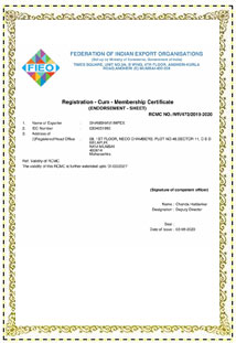 federation Certificate