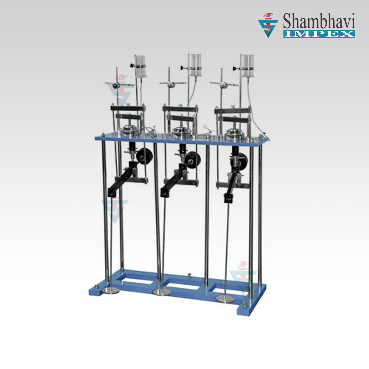 Consolidation Apparatus - Three Gang Model (Odeometer)