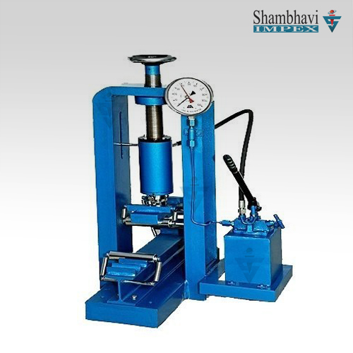 Flexure Testing Machine Hand Operated