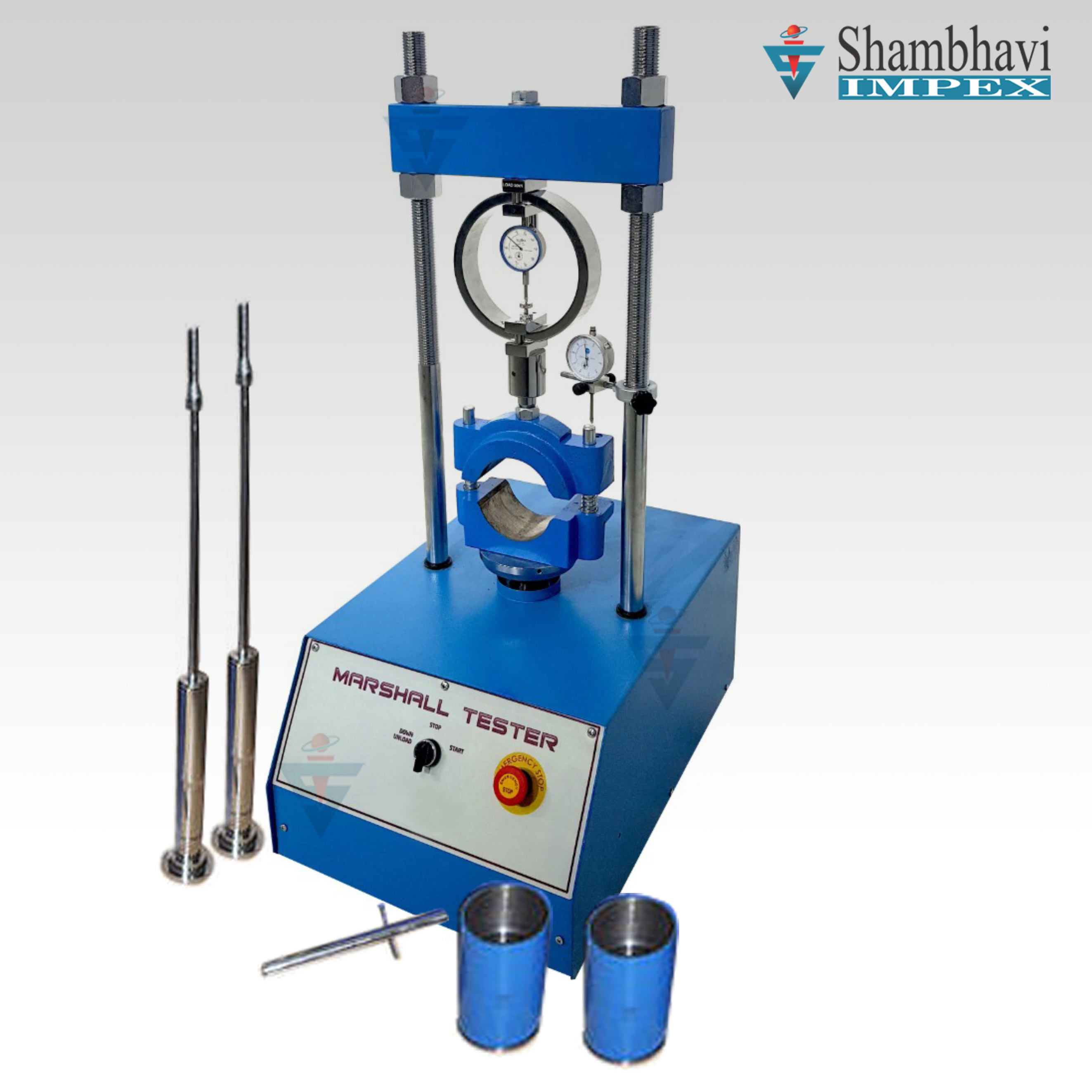Stability Test Apparatus, Marshall Stability Test ...